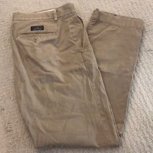 Banana republic men's chinos khaki